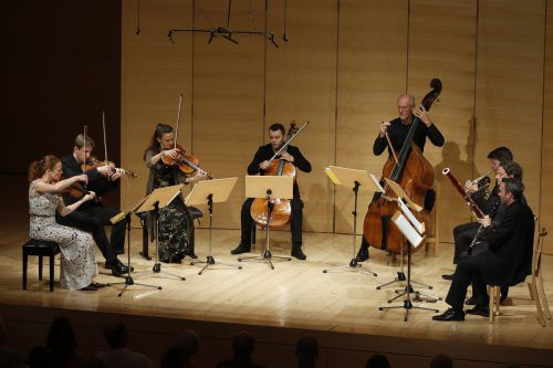 Bei der Sonntagsmatinee in Schwarzenberg gab es im Rahmen der Schubertiade auch einmal neue Musik zu hören. Schubertiade