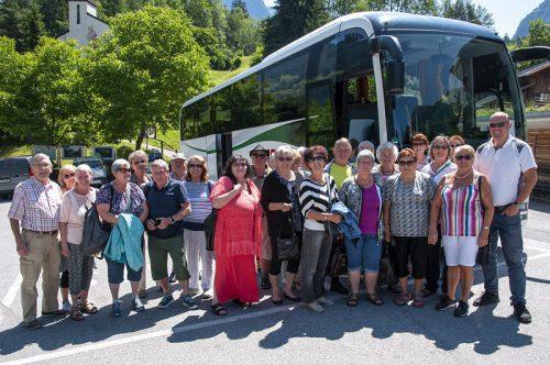 Bei strahlendem Sonneschein fand der Ausfulg des Pensionistenverbandes Hohenems statt.pvö