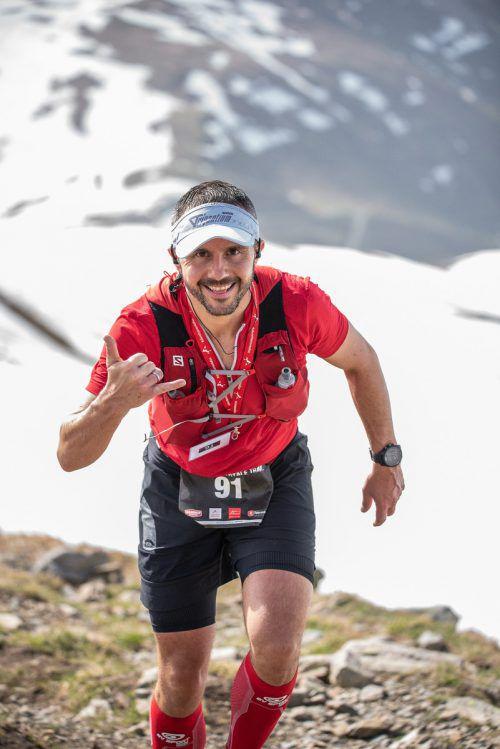 Beim Silvretta-Run in Ischgl war Andreas Gehrer bester Österreicher.globalpixxel.com