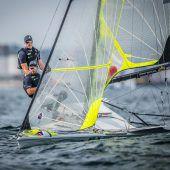 Bildstein/Hussl vor Medal Race Vierte