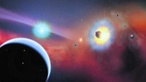 Beta Pictoris wird von einem zweiten Planeten umrundet. APA