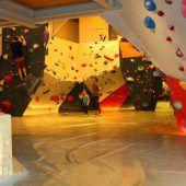 Neue Boulderhalle mit Gastro-Bereich