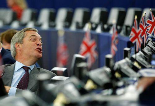 Brexit-Wortführer Nigel Farage hält nichts vom Umweltengagement von Prinz Charles, Prinz Harry und Herzogin Meghan.Reuters