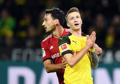BVB-Rückkehrer Mats Hummels (links) wird im Fokus stehen.AFP