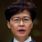 Regierungschefin Lam bleibt hart