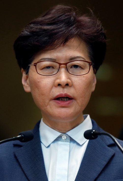 Carrie Lam schließt Zugeständnisse für Demokratie-Aktivisten aus. REUTERS