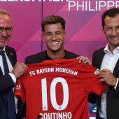 Coutinho-Kaufoption bei 120 Millionen Euro