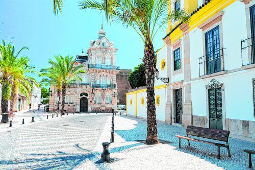 Das Altstadt von Faro hat sich ihren traditionellen Charme bewahrt.