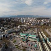 Wahldiskussion in Bregenz: Großprojekte als drängende Themen. A9