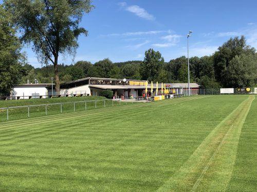 Das Clubheim des Sportvereins Frastanz wird runderneuert. Gemeinde