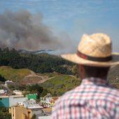 Gran Canarias grüne Lunge steht in Flammen