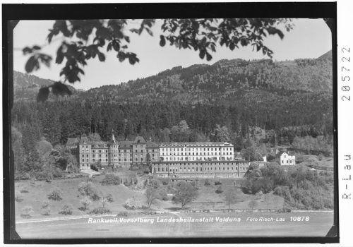 Das LKH Rankweil, damals Landesheilanstalt Valduna, 1954.