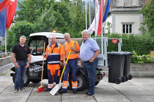 Das neue Bauhoffahrzeug wurde in Bludenz kürzlich in Dienst gestellt. Stadt