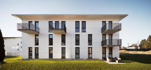 Das Riva-Konzept – im Bild die Anlage in Altach – ermöglicht es, Wohnungseigentum zu leistbaren Preisen zu erwerben. FA/schnabel