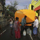 Wasserknappheit betrifft Viertel der Bevölkerung