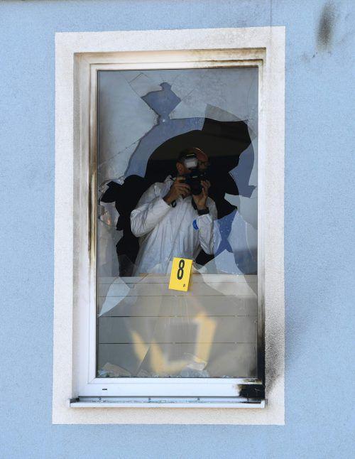 Der Brand in einem Lagerraum konnte schnell gelöscht werden. APA