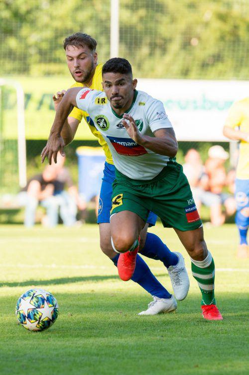 Der Ex-Bregenzer Vinicius Gomes Maciel soll für die Tore sorgen.Stiplovsek