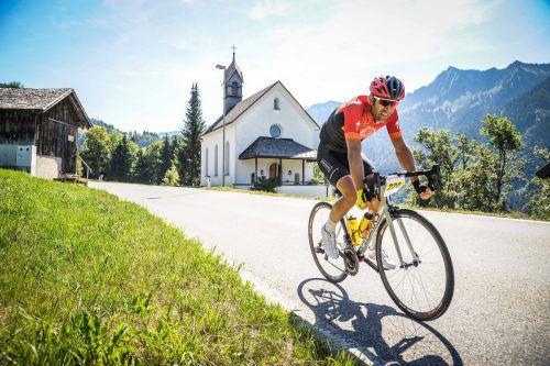 Der Highlander-Radmarathon ist die sportliche Herausforderung für dieses Wochenende.Stadt hohenems