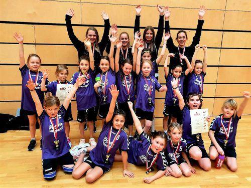 Der SSV Dornbirn Schoren lädt Mädchen ab sechs im August noch viermal zum Handball-Schnuppern. cth