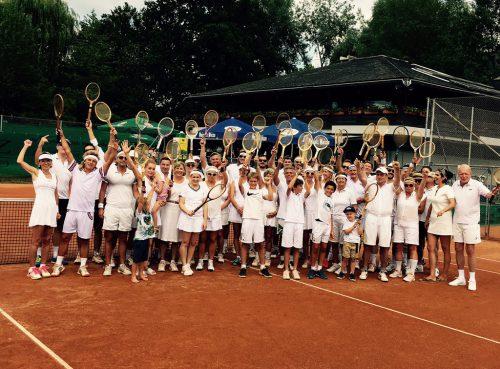 Der Tennisclub Bregenz lud zum ersten Retro-Cup.tc Bregenz