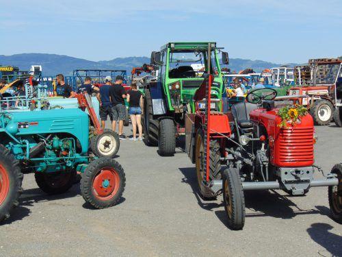 Der Traktorfrühschoppen in Weiler sorgt Jahr für Jahr zu Maria Himmelfahrt für glänzende Augen bei Oldie-Traktorenfans. Mäser
