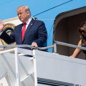 Trumps Trauerbesuche in Dayton und El Paso sorgen für Kritik