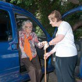 Messe-Abholservice für Senioren