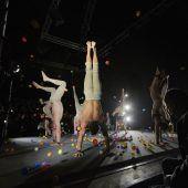 Faszinierende Akrobatik auf kleinstem Raum