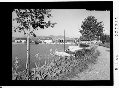 Die Bucht wurde Ende der Fünfzigerjahre neu gestaltet.