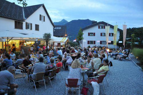 Die bugo Sommersessions werden von den Göfner Bürgern gut angenommen und sind immer gut besucht. gemeinde Göfis