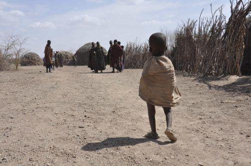 Die häufigeren und stärkeren Dürren werden vor allem Kinder in armen Ländern treffen, die überhaupt nicht zur Klimakrise beigetragen haben.AP