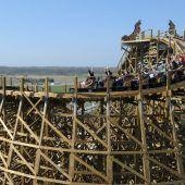 Kette gerissen: Holzachterbahn im Europa-Park gestoppt