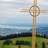 Ein neues Kreuz fürs Fähnle eingeweiht