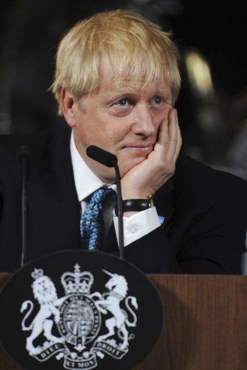 Die Mehrheit des britischen Premiers schmolz im Parlament auf eineStimme.AP