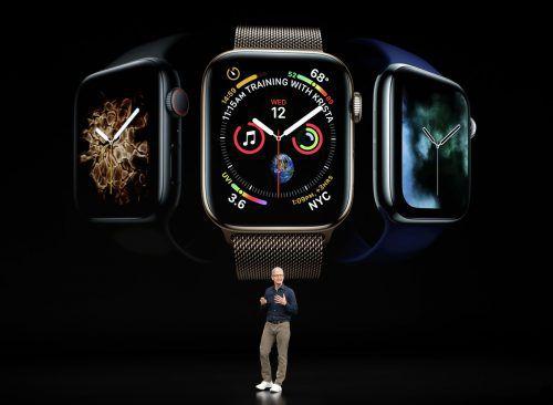Die mit Abstand beliebteste Smartwatch der Welt stammt von Apple. AP
