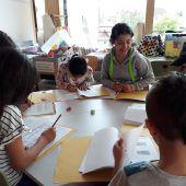 In Lustenau wird in den Ferien Deutsch gelernt