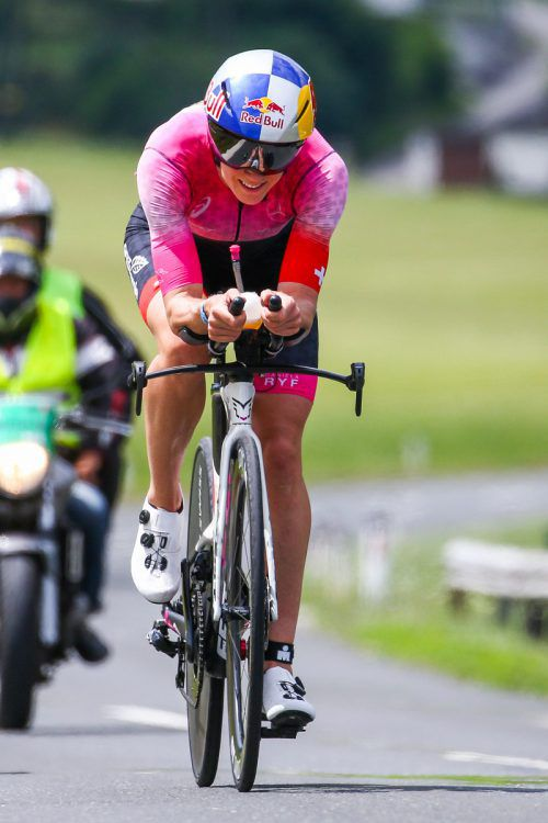 Die Schweizerin Daniela Ryf ist aktuell die erfolgreichste Triathletin der Welt.GEPA