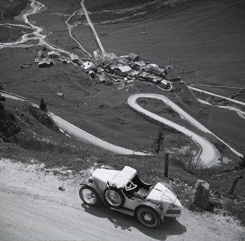 Die Serpentinen führen hinauf Richtung Arlbergpass.