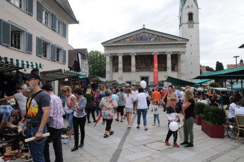 Dornbirn ist in diesem Jahr der letzte ländleanzeiger.at-Nachflohmarkt in Vorarlberg,.dornbirn tourismus/kuer