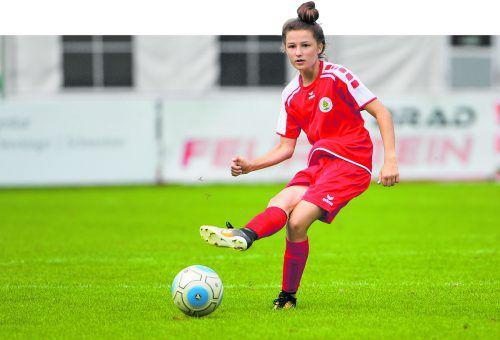Dornbirn-Spielerin Carolina Brunold steht auch im österreichischen U-19-Aufgebot.VN-Lerch