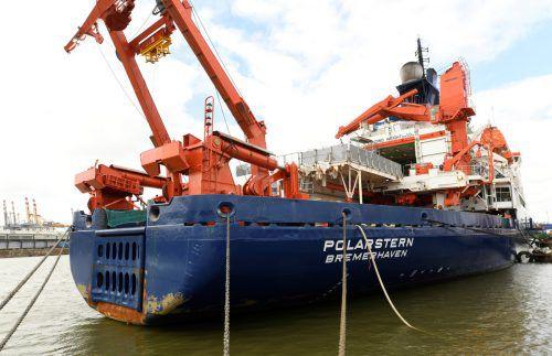 Ein Jahr lang soll das Forschungsschiff im Packeis durch die Arktis driften. Reuters