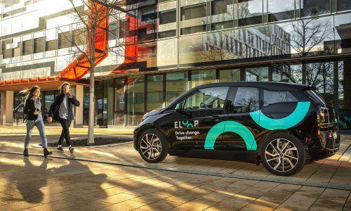 Eloop ist das erste Carsharing-Unternehmen in Wien, das nur E-Autos anbietet. Fa