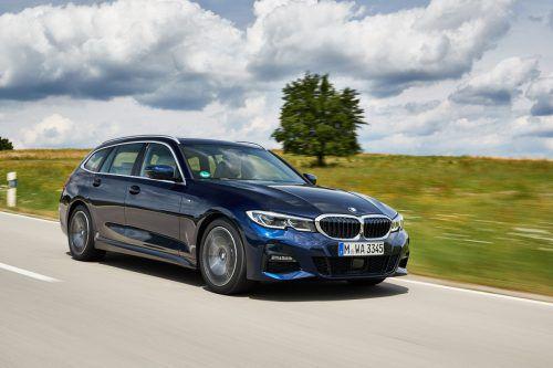 Erstmals offeriert BMW auch den 3er Touring in einer Plug-in-Hybrid-Version. Start: Sommer 2020.werk