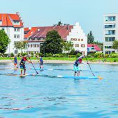 Paddling am Bodensee
