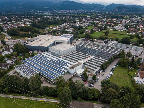 Verkauft und zurückgeleast wurde im vergangenen Jahr ein Produktionsgebäude in Mäder. VN/Steurer