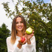 Äpfel werden ausgezeichnet