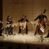 Überraschender Auftakt: Bei der Schubertiade wurde Neue Musik geboten. D7