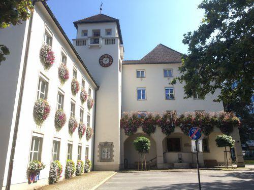 Das Dornbirner Rathaus ist seit 22 Jahren Ökoprofit-zertifiziert.VN/pes