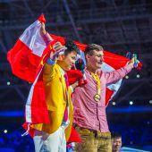 Stefan Erös (20) aus Höchst holt sich Weltmeistertitel bei WorldSkills in Russland. D1