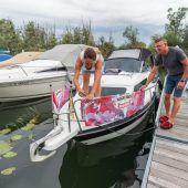 Sommer auf dem Boot